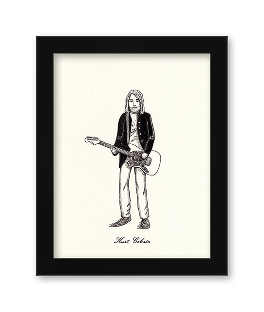 , 'Kurt Cobain,' 2017, Spoke Art