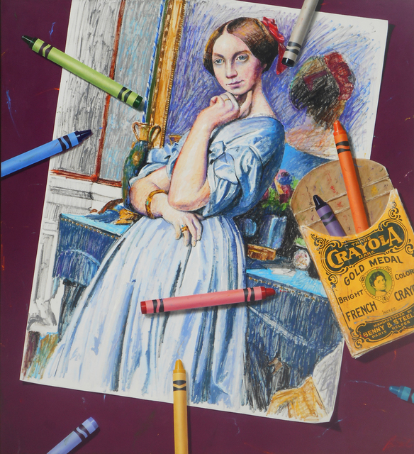 Ben Steele, 'Coloring Comtesse', 2020, Painting, Oil on Canvas, Arden Gallery Ltd.