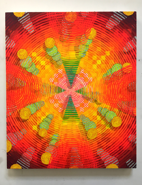 , 'Digital explosion,' 2003, Galerie LJ