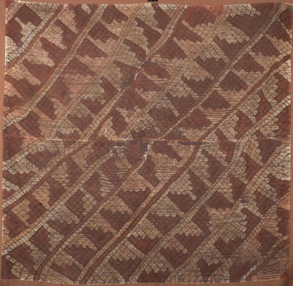 , 'Tie Dye Nazca Textile,' 100 BCE-800, Muzeion Gallery
