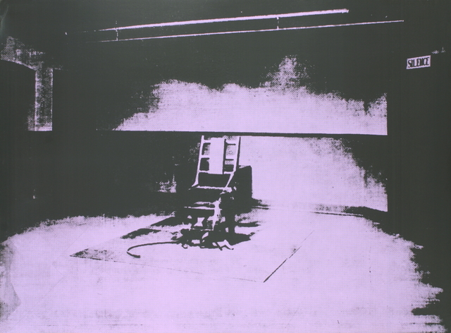 Andy Warhol, 'Electric Chair-Sunday B Morning', 1971, ArtWise