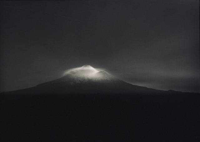 Laurence Aberhart, 'Taranaki from Oeo Road under moonlight, 27-28 September 1999', 1999-2018, Photography, Platinum palladium print, Gow Langsford Gallery