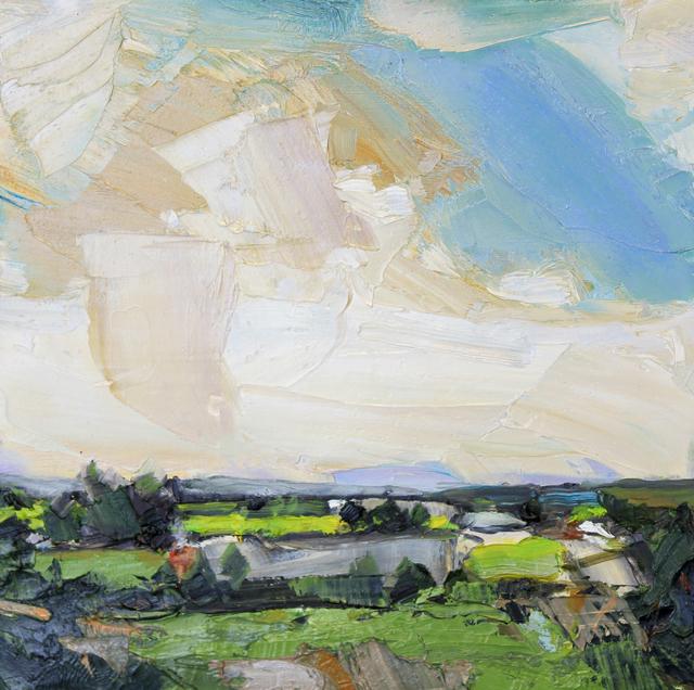 , 'Clouds Above Distant Mountains,' , Studio 21 Fine Art