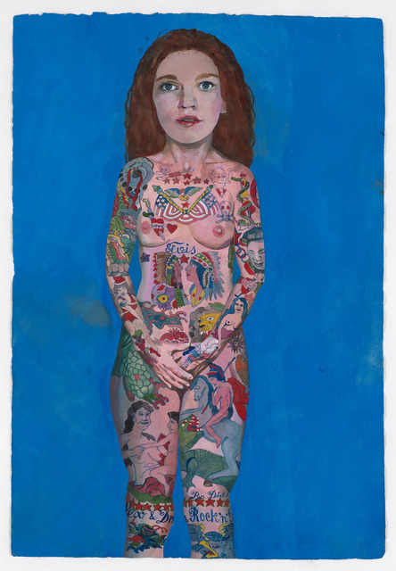 , 'Tattooed Lady,' 2018, Waddington Custot