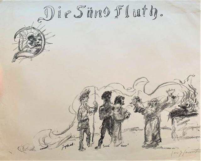 Lovis Corinth, 'Die Sund Fluth', 1923, Redbud Gallery