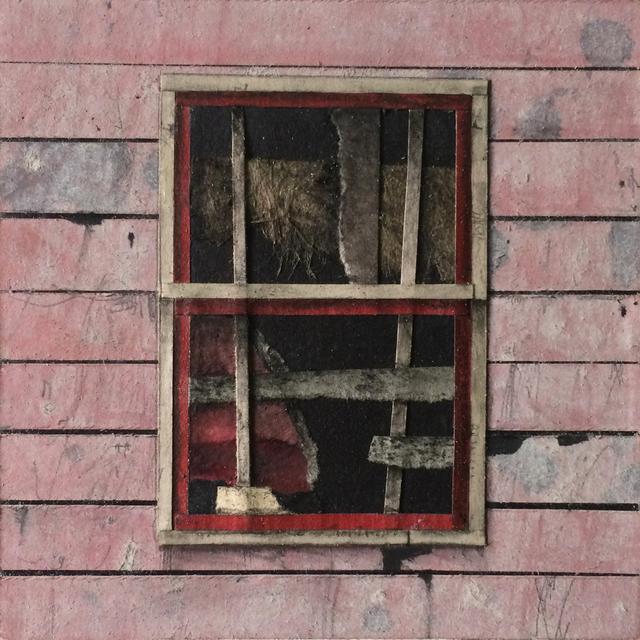 , 'Window Block (pink),' 2015, BoxHeart