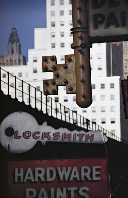 , 'Locksmith Sign, New York,' 1952, 99Prints