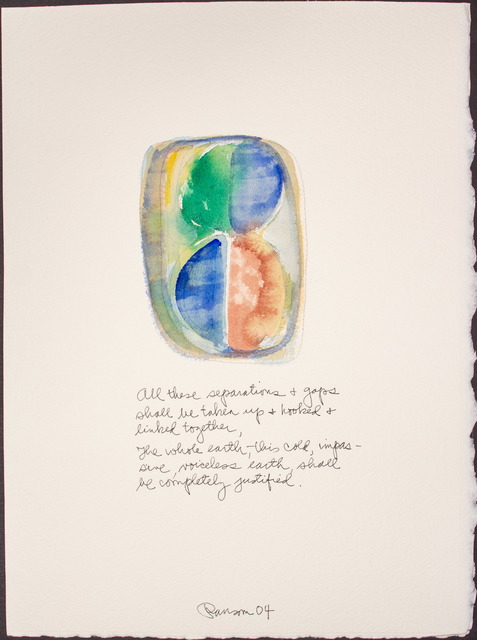 , 'All these separations...,' 2004, BlackBook Presents