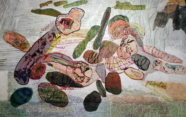 , 'Travailler en solitaire,' 2018, AnnArt Gallery
