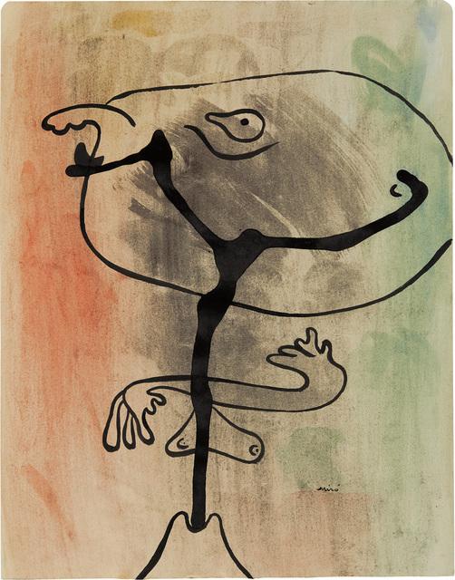 Joan Miró, 'Figure en état de métamorphose (Figure in a State of Metamorphosis)', 1936, Phillips