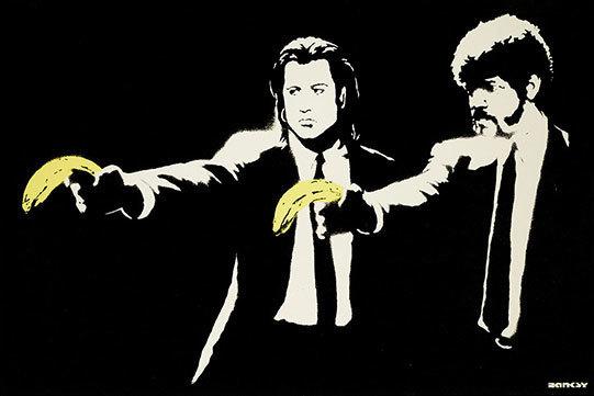 Banksy, 'Pulp Fiction', 2004, Tanya Baxter Contemporary