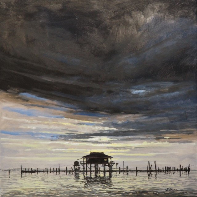 , 'Pilings like Cypress Knees,' , LeMieux Galleries