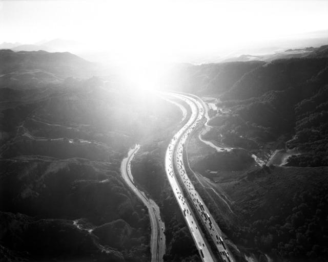 , 'Golden State Freeway Looking Southeast Over San Fernando Pass,' 2004, Danziger Gallery