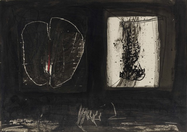 Emilio Scanavino, 'Immagine', 1963, Painting, Collage, tempera, Indian ink and crayon on cardboard, ArtRite