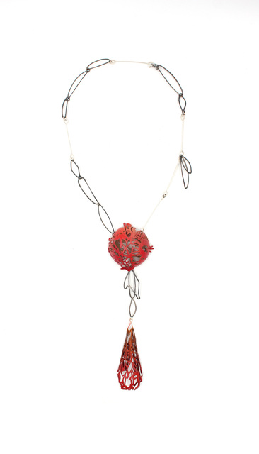 , 'Harvest Moon Necklace ,' 2017, form & concept