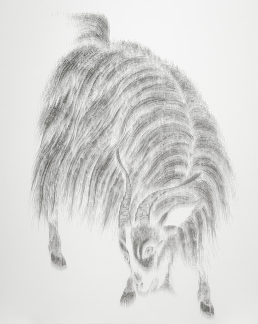 , 'Imitating Sheep and Goat by Zao Mengfu, Yuan Dynasty, early 14th century,' 2013, Tina Keng Gallery