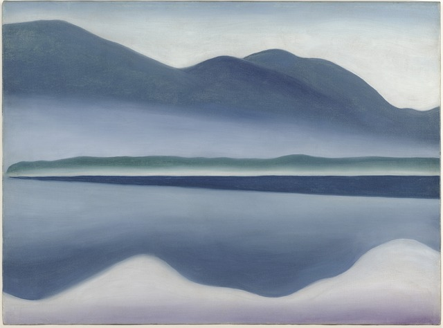 Georgia O'Keeffe, 'Lake George [formerly Reflection Seascape]', 1922, San Francisco Museum of Modern Art (SFMOMA)