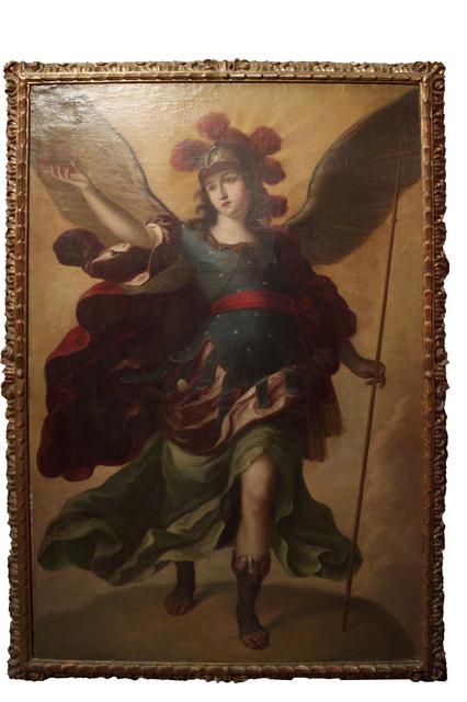 , 'Arcángel,' Siglo XVIII, Mario Uvence