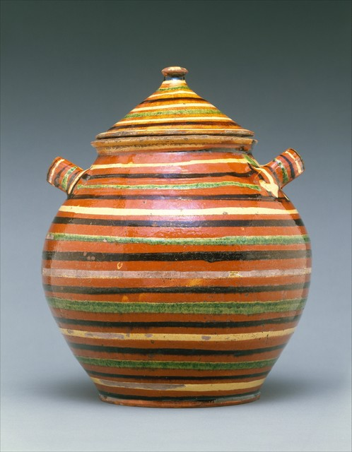 Unknown American, 'Sugar pot', 1820–1840, The Metropolitan Museum of Art