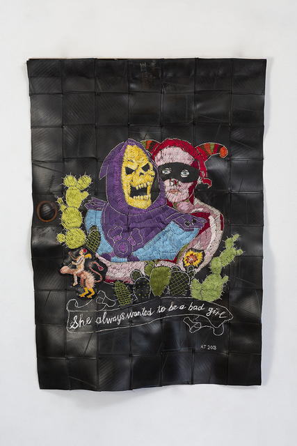 Hannalie Taute, 'She always wanted to be a bad girl ', 2018, 99 Loop Gallery