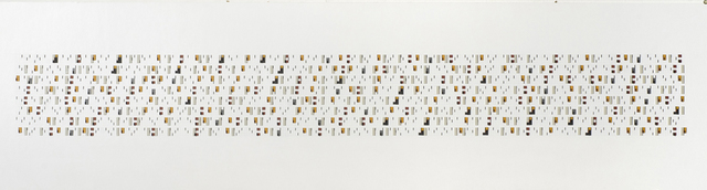 , '(3,5,8) Non coincided Finishes and Starts x 13,' 2012, Charles Nodrum Gallery