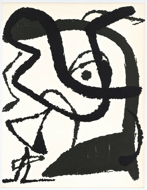 Joan Miró, 'Untitled, Miro Graveur Volume II (D. 1292)', 1989, Other, Wood Engraving, Inviere Gallery