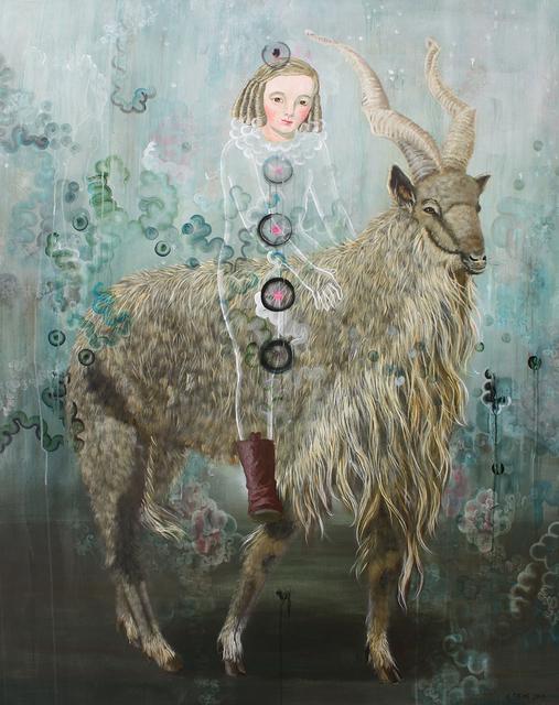 , 'Markhor Goat ,' 2017, David Lusk Gallery