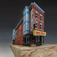 , '2046 W Diamond St.,' 2018, Jane Hartsook Gallery