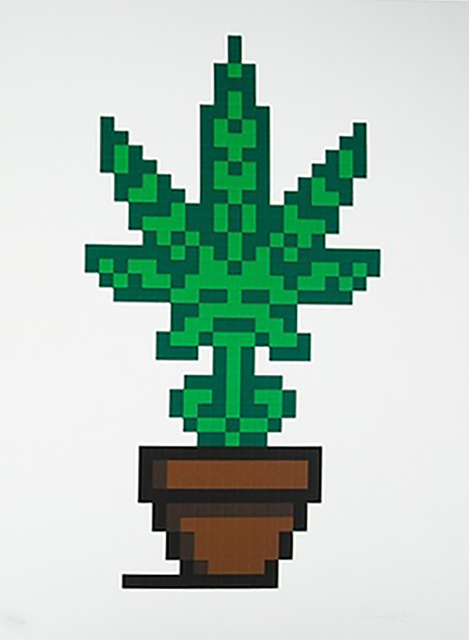 Invader, 'HOLLYWEED (BROWN EDITION)', 2018, Marcel Katz Art