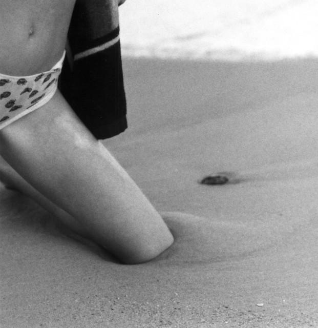 Frauke Eigen, 'Knie im Sand/ Knee in the sand , Ukraine', 2001, Photography, Gelatin silver print, Atlas Gallery