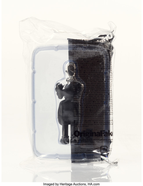 KAWS, 'Companion (Black), keychain', 2009, Other, Painted cast vinyl, Heritage Auctions