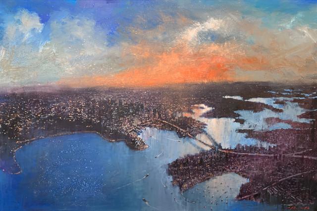 David Hinchliffe, 'Sydney Skies', Wentworth Galleries