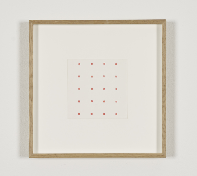 , 'Untitled (20 solid red squares),' , Galerie Greta Meert