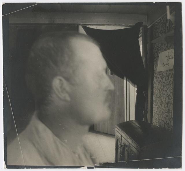 , 'Edvard Munch I profil, innendørs,' 1904, Munch Museum