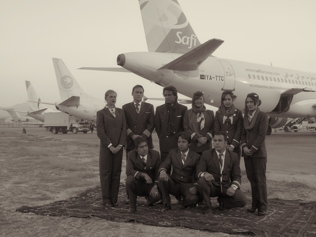, 'The Crew And Ground Staff Of The New Independent Operator, 'Safi Airways',' 2010, Benrubi Gallery