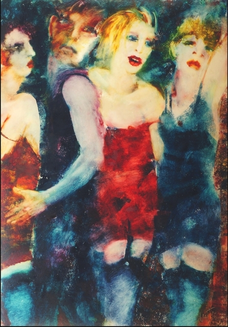 , 'Dancing girls,' 2007, Robert Eagle Fine Art