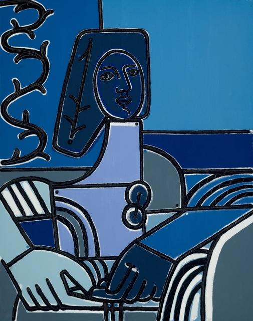 , 'Woman & Blue Scarf,' , Joanne Artman Gallery