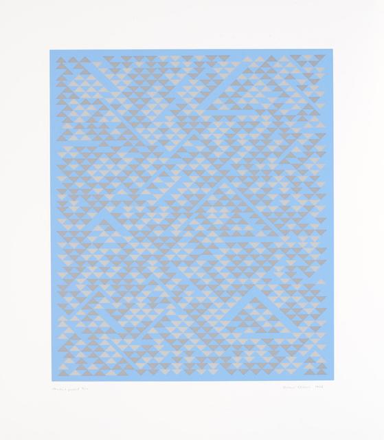 , 'A,' 1968, Alan Cristea Gallery