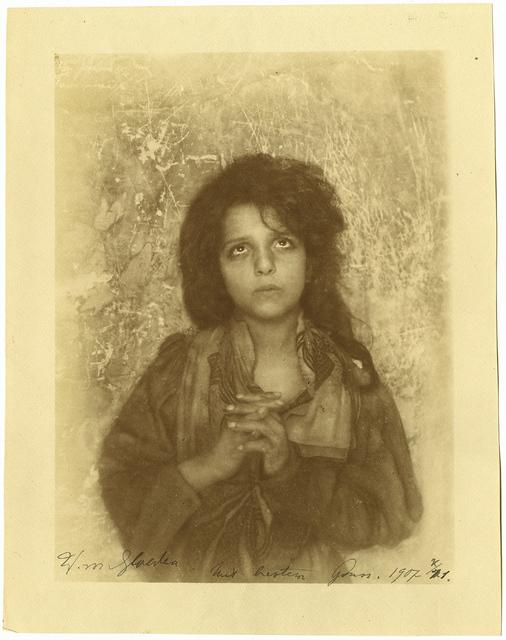, 'Girl in Prayer,' 1907, Be-hold