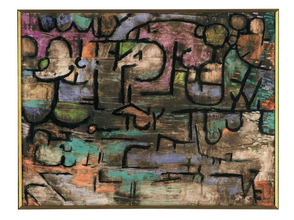 Paul Klee, 'nach der UeberSchwemmung (After the Flood),' 1936, Fondation Beyeler