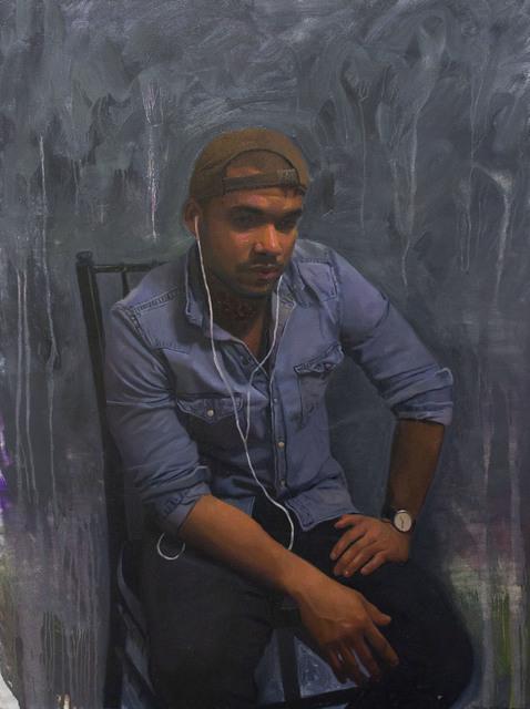 , 'Irvin (Portrait of Irvin Rodriguez),' 2017, 33 Contemporary