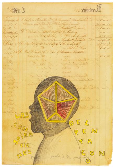 , 'Las Conspiraciones del Pentágono ,' 2013, Galeria Senda