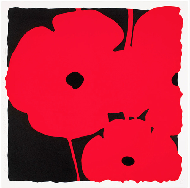 Donald Sultan, 'Poppies, June 8, 2011 (Red)', 2011, New Gallery of Modern Art