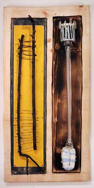 John de Wit, 'Mise En Place', 2019, Sculpture, Blown glass, wood, paint, Foster/White Gallery