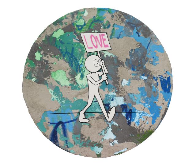 , 'Love Protest,' 2019, Markowicz Fine Art