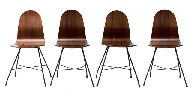 Franco Campo and Carlo Graffi, 'Four Chairs by Franco Campo, Carlo Graffi', 1950s, Wallector