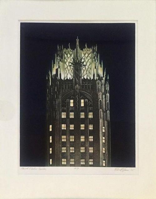 Richard Haas, 'General Electric Building', 2005, CITYarts Benefit Auction