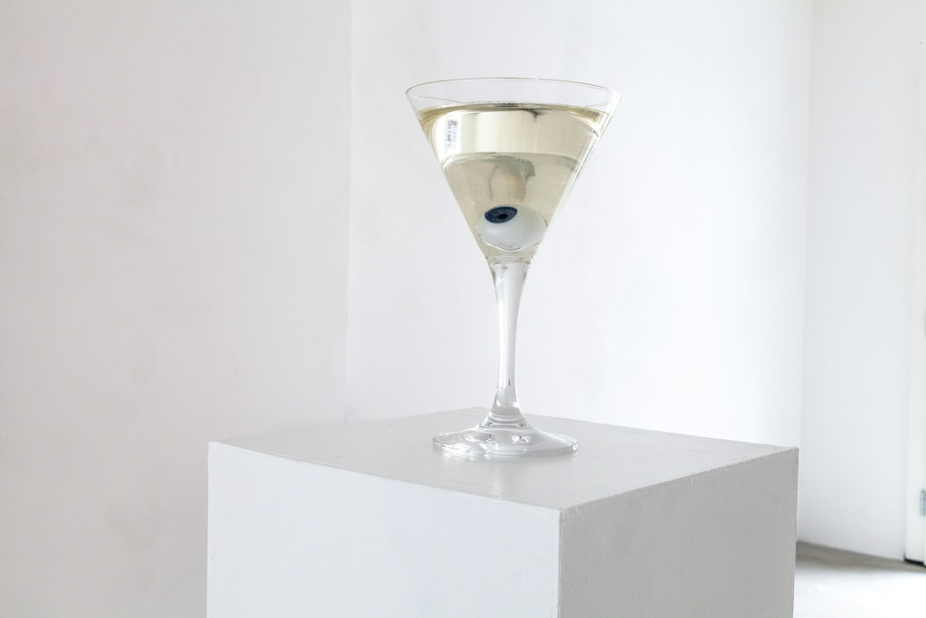 "exhibition view: ""Glasauge"" (engl. Glass Eye), 2016 
