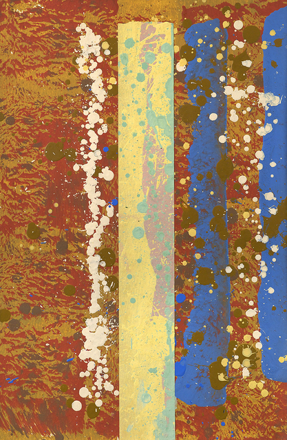 Edward Avedisian, 'Untitled', 1970, Painting, Mixed media on paper, Berry Campbell Gallery
