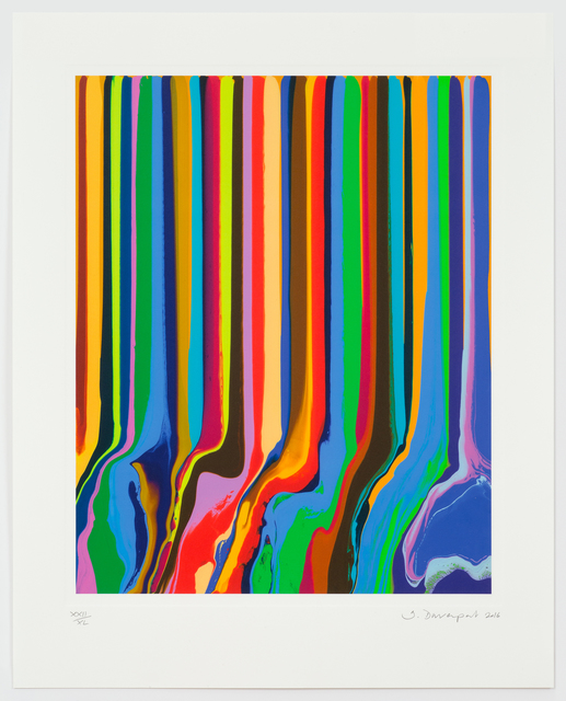 , 'Chromatastic L'Officiel,' 2016, Arteedições Galeria